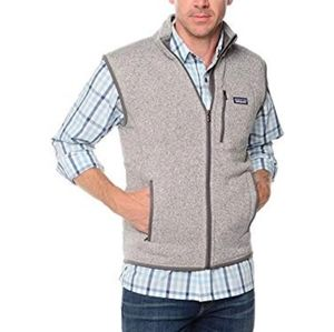 PATAGONIA Mens Gray Better Sweater Vest Size L